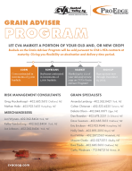 CVA Grain Adviser Program Flyer