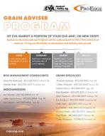 CVA Grain Adviser Program Flyer