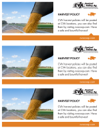 Harvest Policy Statement Stuffer